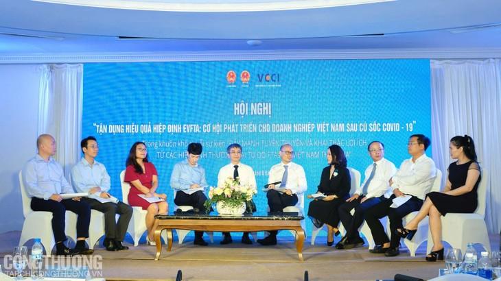 Giat menyempurnakan mekanisme dan kebijakan untuk memanfaatkan peluang dari EVFTA - ảnh 1