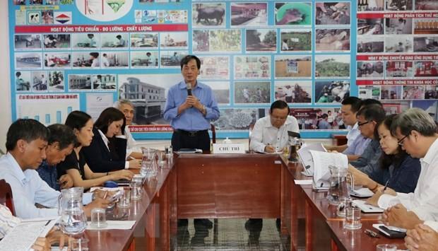 Simposium tentang solusi mengembangkan energi terbarukan di Provinsi Ninh Thuan - ảnh 1