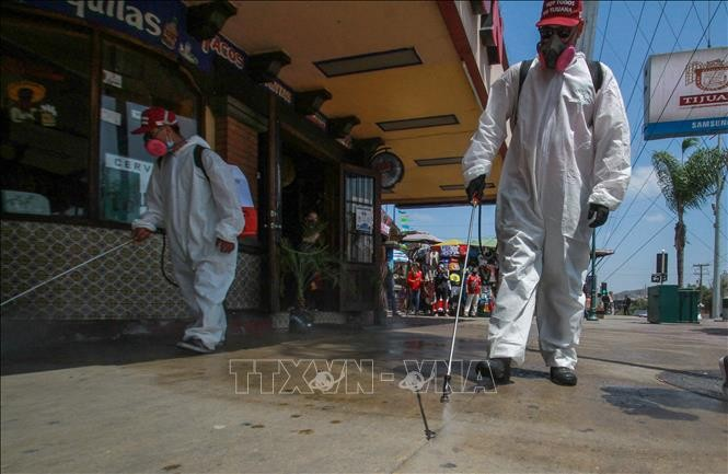 AS mencatat kasus terinfeksi baru yang tertinggi, Meksiko melampaui Perancis tentang kasus kematian - ảnh 1
