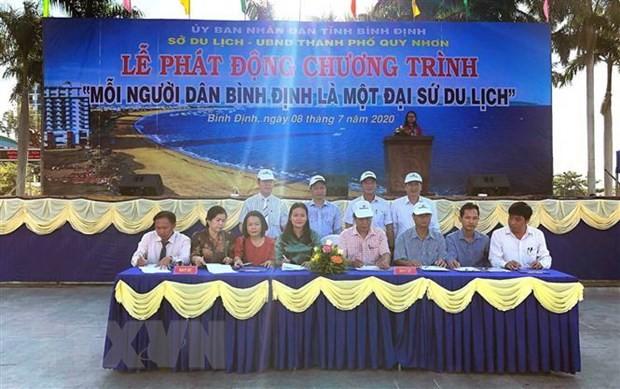 Setiap warga Provinsi Binh Dinh merupakan seorang duta wisata - ảnh 1