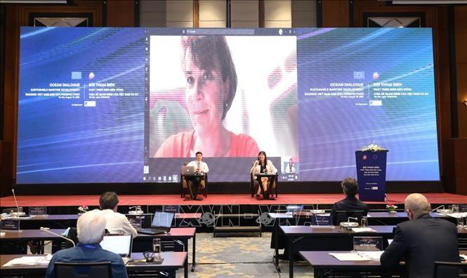 Mendorong kerjasama dan perkembangan ekonomi kelautan yang berkesinambungan antara Viet Nam dan Uni Eropa - ảnh 1