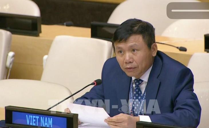 Viet Nam memimpin dialog antara ASEAN dan Ketua Majelis Umum PBB angkatan 75 - ảnh 1