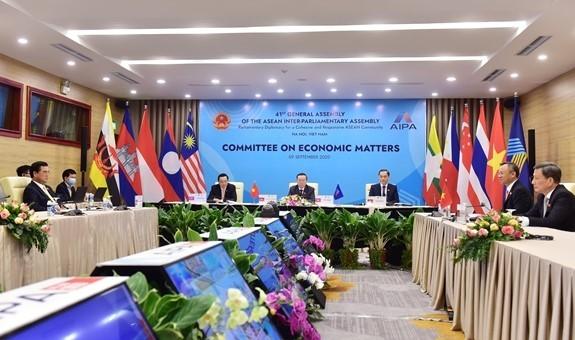 AIPA akan berupaya keras  mendorong perdamaian, keamanan, ketertiban struktur kawasan - ảnh 1