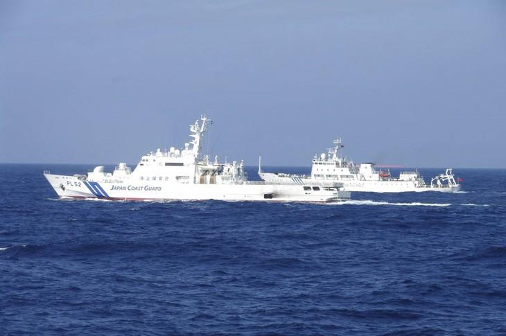 Jepang Cemaskan Peningkatan Tindakan Tiongkok di Laut Huatung - ảnh 1
