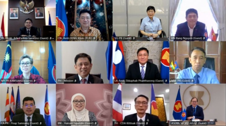 Viet Nam Minta Tiongkok Terus Dukung Proyek-Proyek dalam Kerangka Gagasan Konektivitas ASEAN - ảnh 1