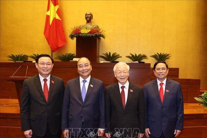 Komunitas Internasional Taruh Kepercayaan terhadap Badan Pimpinan Baru Viet Nam - ảnh 1