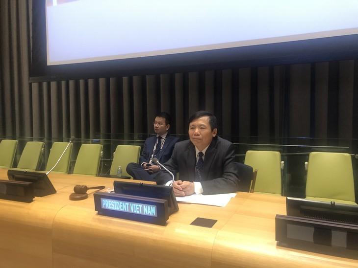 Diplomatik dengan Keadilan, Faktor Penting dalam Keberhasilan Viet Nam pada Bulan Ketua DK PBB - ảnh 1