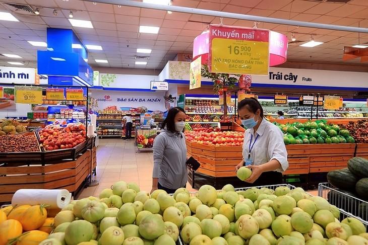Kota Ha Noi Proaktif dengan Skenario-Skenario Pemasokan Pangan dan Bahan Makanan di Tengah Covid-19 - ảnh 1