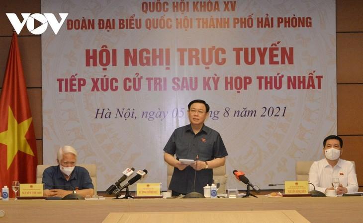 Kota Hai Phong Dorong Pelaksanaan Proyek Ekonomi, Berikan Sumbangsih bagi Pembangunan Kota - ảnh 1