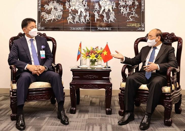 Presiden Nguyen Xuan Phuc dan Pimpinan Negara-Negara Sepakat Memperkuat Kerja Sama Bilateral - ảnh 1