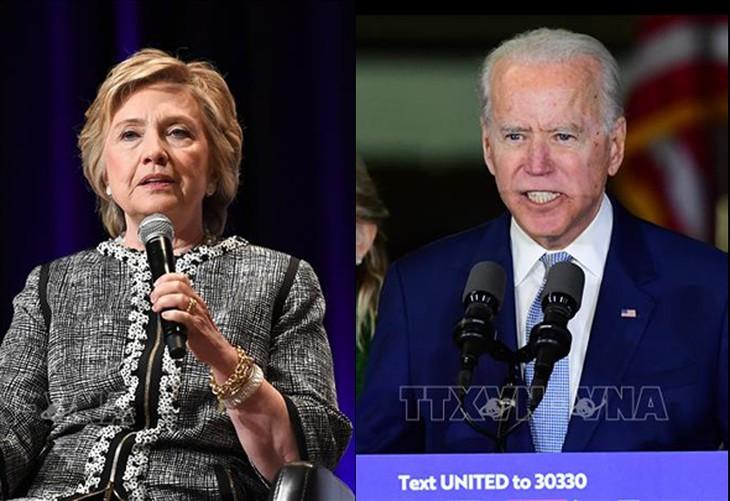 ການເລືອກຕັ້ງອາເມລິກາ 2020: ຜູ້ສະໝັກເລືອກຕັ້ງ Joe Biden ໄດ້ຮັບການສະໜັບສະໜູນຈາກທ່ານນາງ Hillary Clinton - ảnh 1