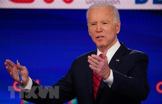 ການເລືອກຕັ້ງປະທານາທິບໍດີອາເມລິກາ 2020:  ຜູ້ສະໝັກເລືອກຕັ້ງJoe Biden ຍາດໄດ້ໄຊຊະນະໃນການເລືອກຕັ້ງເບື້ອງຕົ້ນຢູ່ Kansas - ảnh 1