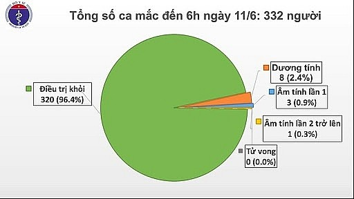 ກວ່າ 96% ຈໍານວນຜູ້ຕິດເຊື້ອພະຍາດໂຄວິດ - 19 ຢູ່ຫວຽດນາມ ໄດ້ຮັບການປິ່ນປົວຫາຍດີເປັນປົກກະຕິ - ảnh 1