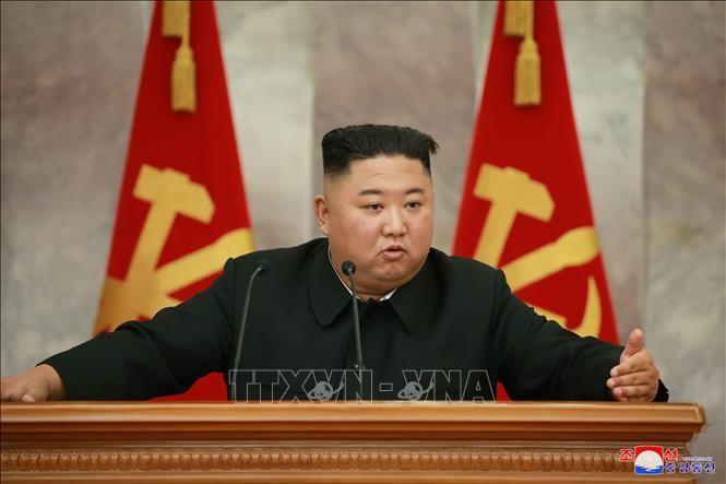 ການນຳ ສປປ.ເກົາຫຼີ Kim Jong – un ໄດ້ເປັນປະທານກອງປະຊຸມຄະນະພັກທະຫານສູນກາງ - ảnh 1