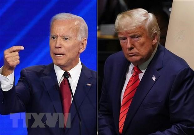 ການເລືອກຕັ້ງອາເມລິກາ 2020: ທ່ານ J.Biden ສືບຕໍ່ຍາດໄດ້ທ່າດີເມື່ອທຽບໃສ່ທ່ານ Donald Trump ປະທານາທິບໍດີ ອາເມລິກາ - ảnh 1