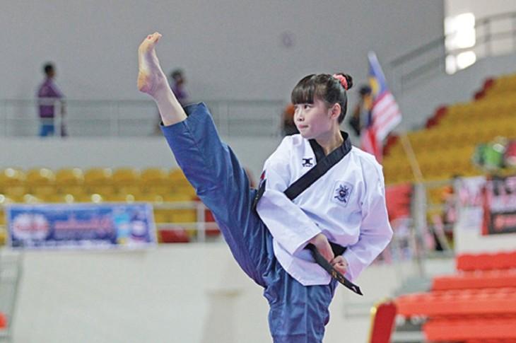 ນັກສຶກສາ ກຳປູເຈຍ ແລະ ຄວາມຮັກມັກກັບ Taekwondo - ảnh 2
