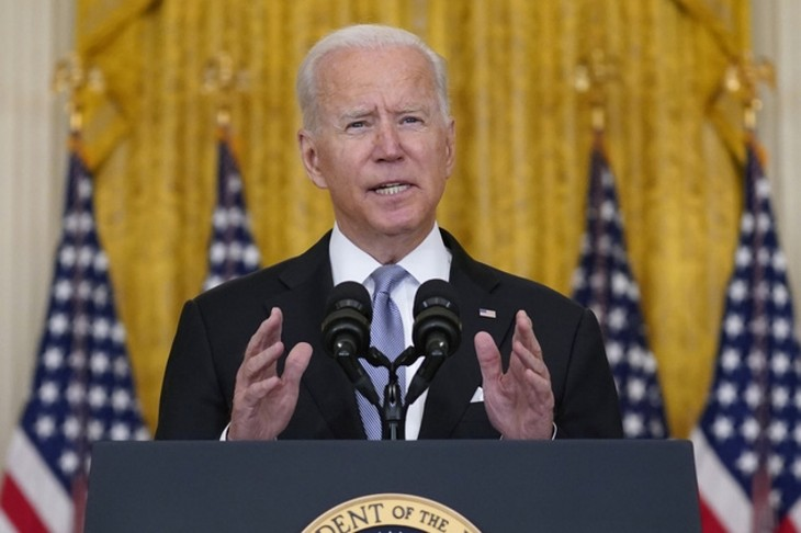 ທ່ານປະທານາທິບໍດີ Joe Biden ຢັ້ງຢືນ ການສູ້ຮົບຂອງ ອາເມລິກາ ຢູ່ ອາບການິດສະຖານ ໄດ້ສິ້ນສຸດລົງນັບແຕ່ຄ່ຳຄືນວັນທີ 30 ສິງຫາ - ảnh 1