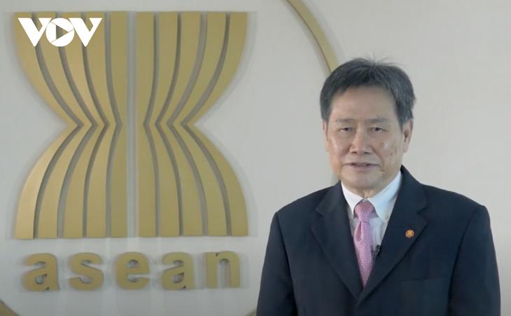 ASEAN Oline Sale Day 2021 - ຊຸກຍູ້ການຄ້າຂ້າມຊາຍແດນ ລະຫວ່າງບັນດາປະເທດ ອາຊຽນ - ảnh 1