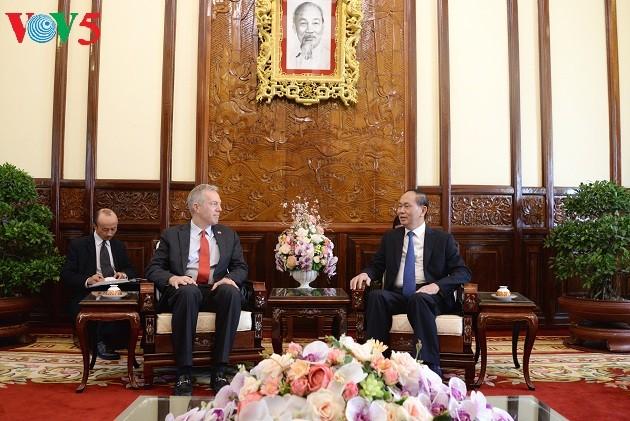 Vietnam promete crear condiciones favorables para el nuevo embajador de Estados Unidos - ảnh 1