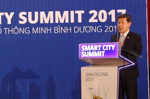 Binh Duong con vistas a convertirse en urbe inteligente - ảnh 2