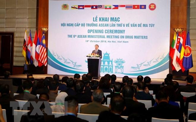 Vietnam reafirma su determinación contra las drogas  - ảnh 1