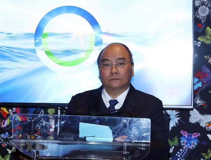 Premier vietnamita propone iniciativas para la protección del ambiente marítimo - ảnh 1