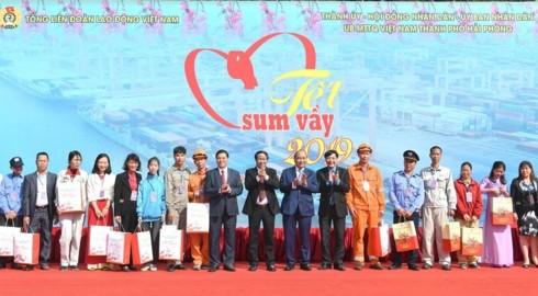 Hai Phong adelanta tareas de desarrollo en 2019 - ảnh 1