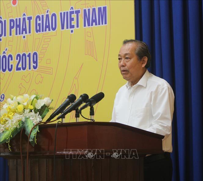 Vicepremier vietnamita reitera el respeto del país a la libertad religiosa - ảnh 1