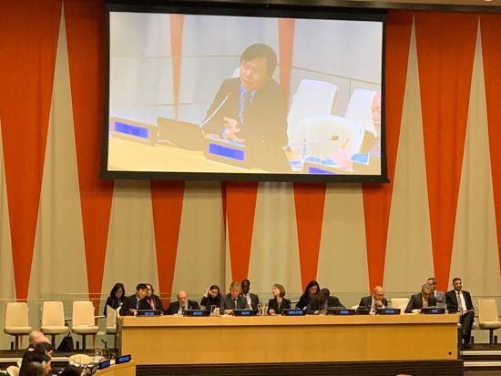 Vietnam determinado a construir relaciones de asociación en mantenimiento de paz de la ONU - ảnh 1