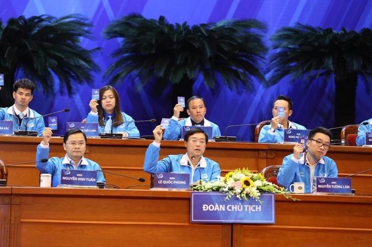 Efectúan primera jornada del VIII Congreso Nacional de la Unión Juvenil de Vietnam - ảnh 1
