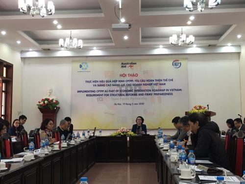 Vietnam por promover la capacidad empresarial mediante el CPTPP - ảnh 1