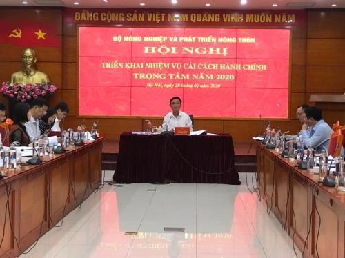 Agricultura vietnamita simplifica trámites administrativos - ảnh 1