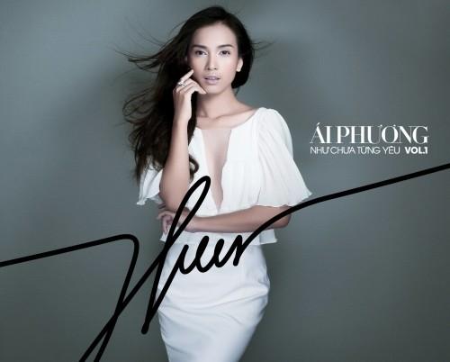 Modelo Ai Phuong avanza en carrera musical - ảnh 1