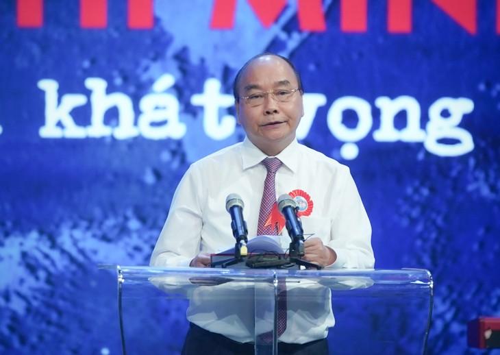 Enaltecen a seguidores sobresalientes del ejemplo moral del presidente Ho Chi Minh - ảnh 1