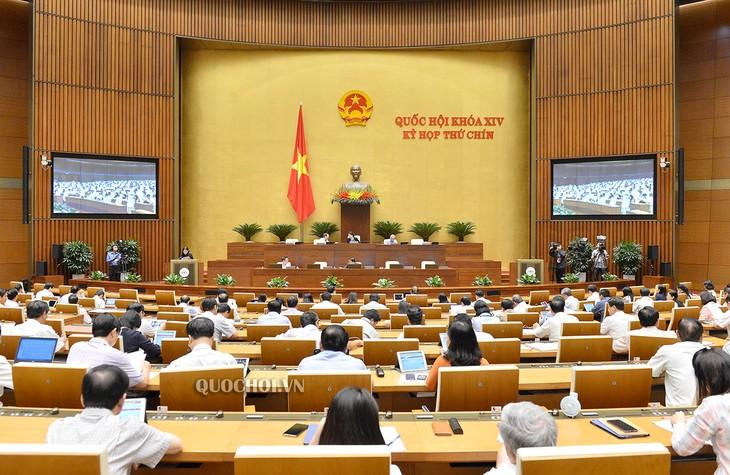 Continúan actividades del noveno periodo de sesiones del Parlamento vietnamita - ảnh 1