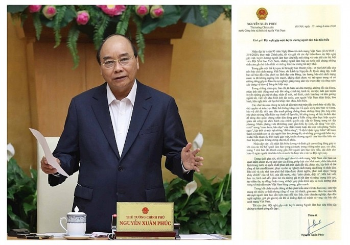 Jefe del Gobierno vietnamita enaltece aportes de la prensa revolucionaria nacional - ảnh 1
