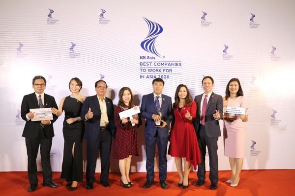 """HDBankhonrado en el acto de premiación """"HR Asia Awards 2020"""" - ảnh 1"""