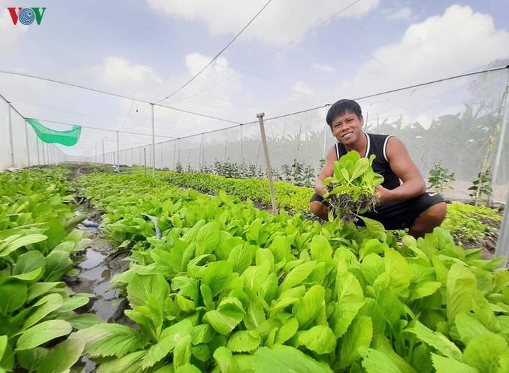 Comuna de Khanh Lam tiene éxito en la salida de la pobreza - ảnh 2