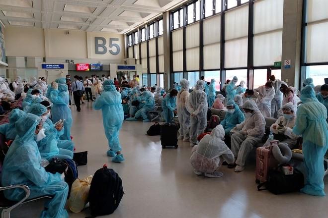 Vietnam repatría a ciudadanos varados en Taiwán (China) - ảnh 1
