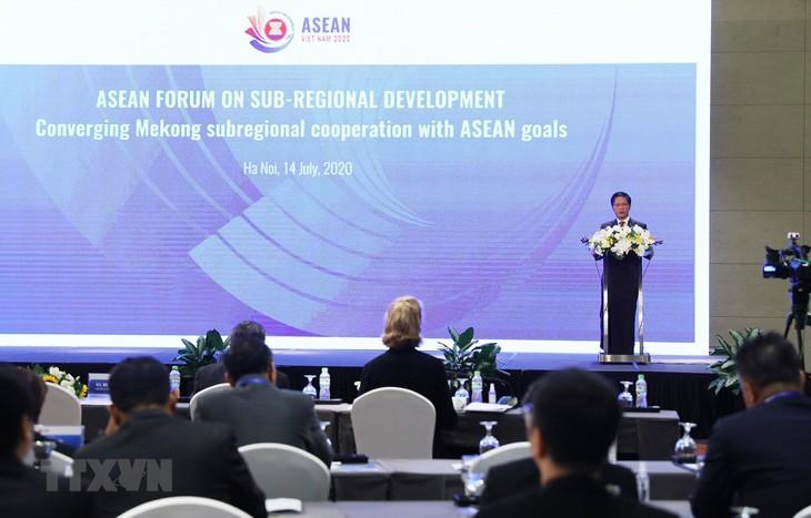 Es necesario fortalecer la relación complementaria entre la Subregión del Mekong y Asean - ảnh 1