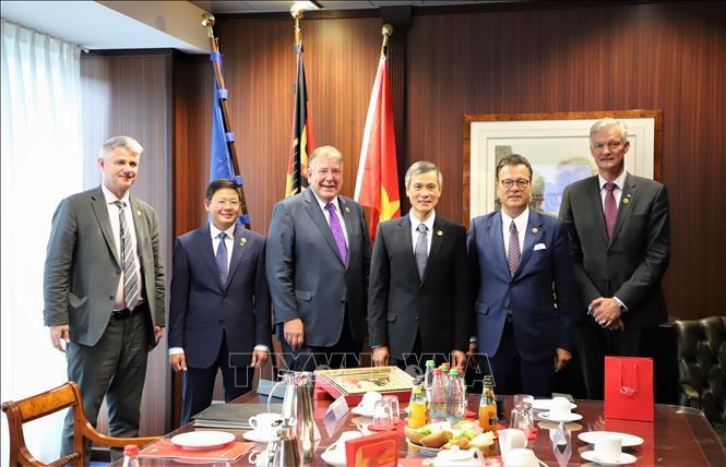 Vietnam es un mercado potencial para las empresas alemanas, afirma experto germano - ảnh 1
