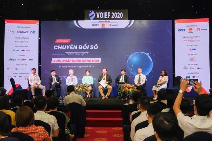 Vietnam impulsa la transformación digital para elevar competitividad empresarial - ảnh 1