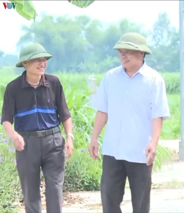 Hoang Viet Toan, veterano de guerra vanguardista en desarrollo de su tierra natal - ảnh 1