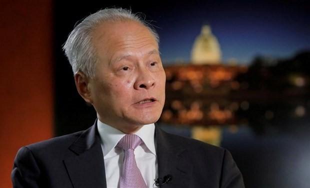 Relación China-Estados Unidos en fase de crisis, estima embajador chino - ảnh 1