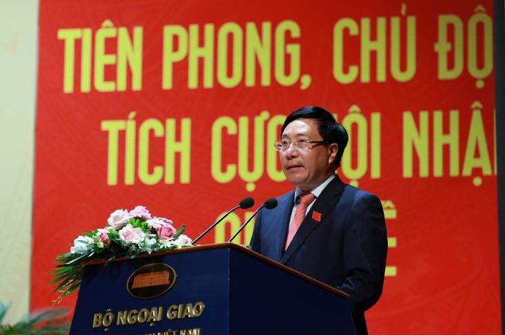 Cancillería vietnamita determinada a cumplir su misión política - ảnh 1