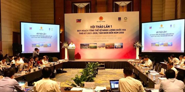 Vietnam establece por primera vez el plan general de energía - ảnh 1