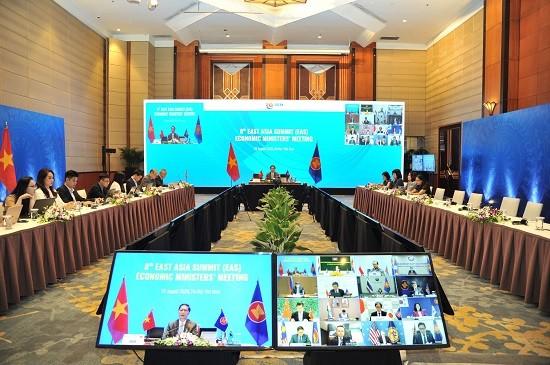 Asean por fortalecer la cooperación económica con sus socios - ảnh 1