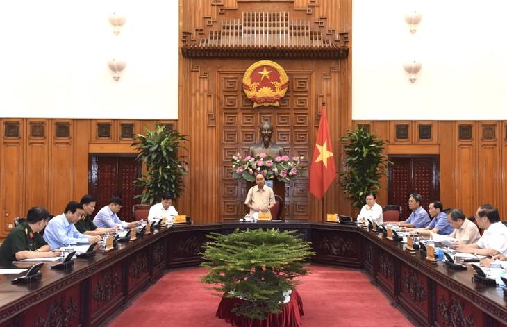 Premier vietnamita instruye el enfrentamiento a los desastres naturales - ảnh 1