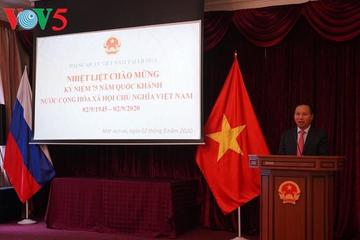 Representaciones vietnamitas en ultramar festejan el Día Nacional - ảnh 1
