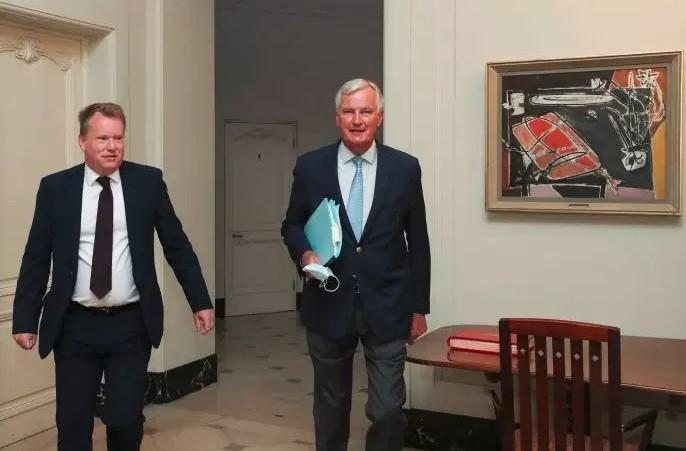 Se reanudan las negociaciones sobre la situación post Brexit en medio de preocupaciones de no llegar a un consenso - ảnh 1